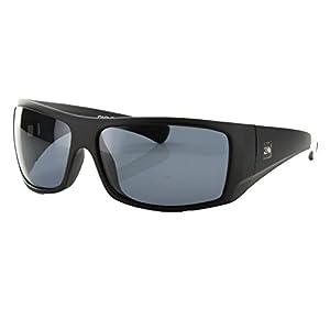 Carve Eyewear Wolf Pak Matte Black Polarized Grey Lens
