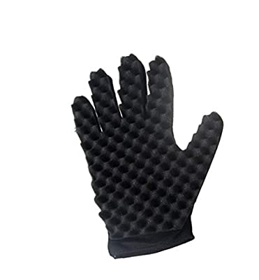 Inverlee Curl Hair Sponge Gloves Brushes Barbers Wave Twist for Curly Hair Styling Care Magic Beauty Tool