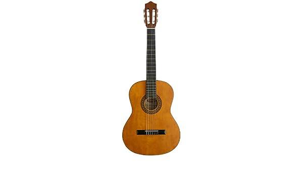 Stagg C442 - Guitarra clásica (madera de tilo), color natural: Amazon.es: Instrumentos musicales