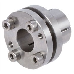 Clamping bush MSM-N made of stainless steel transmittable torque 27Nm bore 12mm max