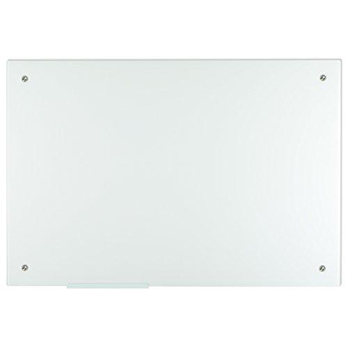 Lockways Glass Dry Erase Board – Ultra Whiteboard / White board 36 x 24, Frameless, Clear marker tray, For Office, Home, School by Lockways (Image #5)