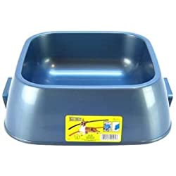 "Lightweight Dog Dish Size: Jumbo (3"" H x 10"" W x 10.375"" D)"