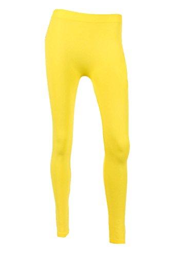 Sofra Womens Length Color Leggings
