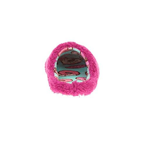 Donut Déranger Pantoufles Roses Femmes Taille Grand 9-10