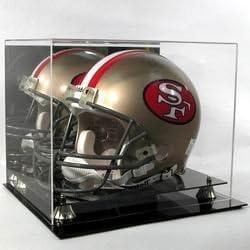 Cardboard Gold Deluxe Acrylic Football Helmet Display Case