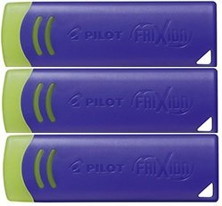 Pilot Frixion Eraser, Pack of 3 (Blue) - New 2018 Version