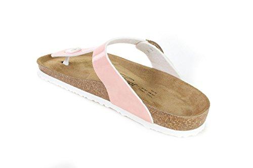Sandals Hammertone Sevilla Soft JOE Damen Fußbett Slippers N JOYCE Skin SynSoft wqIIY8t