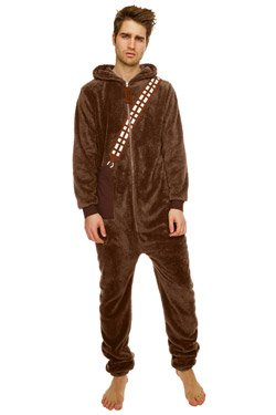 Star Wars Chewbacca Onesie Brown -