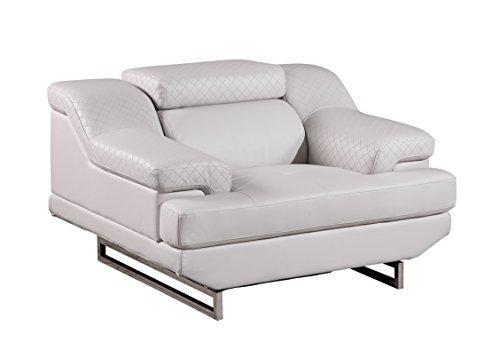 Global Furniture U8141-LT Grey-CH Chair, Light Grey