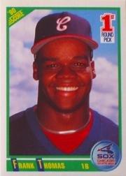 - 1990 Score Baseball Rookie Card #663 Frank Thomas