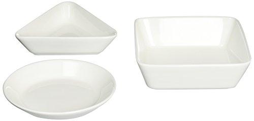 Iittala Teema White/Valkoinen Bowl, Porcelain, White, 12x 12x 3cm 3Units