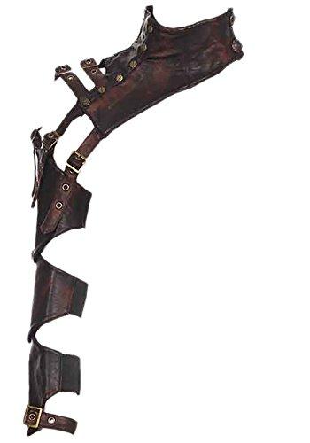Leather Shoulder Armor - 9