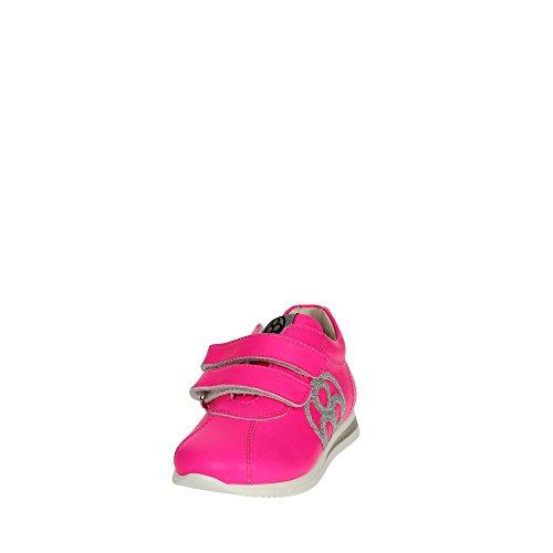 Florens E2330 Zapatillas de Deporte Bajas Chica Fucsia