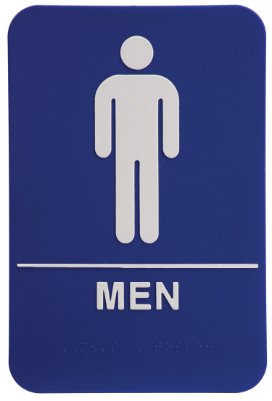 commercial bathroom signs - 2