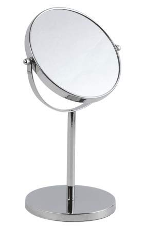 IMMETEE 10x Magnified Vanity Mirror – 6 Inch Round Makeup Cosmetic Mirror for Bathroom or Bedroom Table Top – Portable…