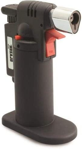2,500 Degrees F Blue Torch Flame Blazer 189-9274 Firefox Mini Torch Cigar Lighter Refillable Butane