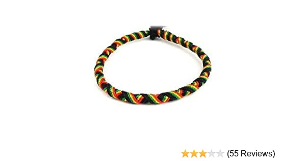 Fashion Jewelry Learned 4 X Rasta Handwoven Wristbands Different Designs Wristbands