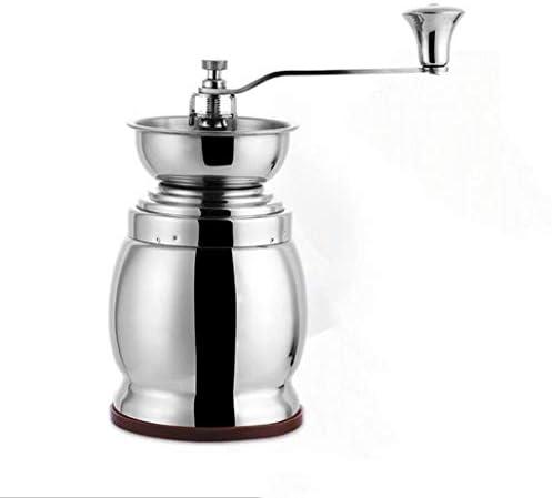 LJXWH Handkaffeemühle Kaffeebohnen-Mühlenmühlenhaushaltshandmühlenhaushaltsmühlen können für Haus-, Büro- und Reisecaféhotel benutzt Werden