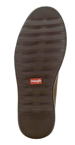 Wrangler - Calzado Casual De Espuma Con Memoria De Encaje, Oxford Para Hombre, 0017, Marrón
