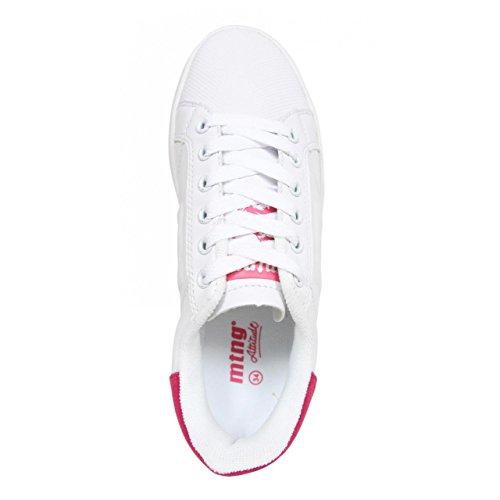 Chaussures de sport pour Femme et Garçon et Fille MTNG 69680 BLANCO-FUCSIA