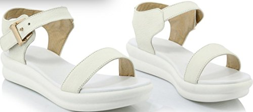 Knöchel Damen Laruise Damen Knöchel Riemchen Laruise Weiß xAWP7qTfWw