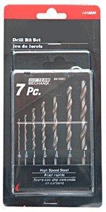CRL 7 Piece Fractional Gauge Drill Set from 1/16