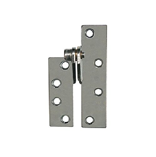 Global Door Controls CP-RPRH-26D Imperial USA Reinforcing Pivot Right Handed Hinge In Satin Chrome, by Global Door Controls
