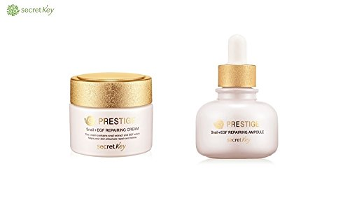 Secret Key Prestige Snail+EGF Repairing Cream & Ampoule