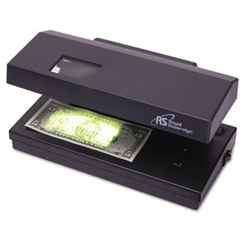 (Portable 4-Way Counterfeit Detector, UV, Fluorescent, Magnetic, Magnifier)