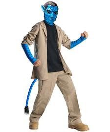 Avatar Child's Deluxe Costume And Mask, Jake Sully  Costume