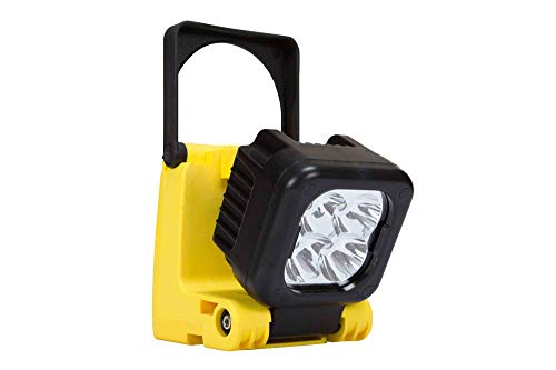 Larson Electronics RL-17-LED-M-CPR 12W Rechargeable LED Lantern/Searchlight-Magnetic Mount Base-L-ion Battery-1050 Lumens