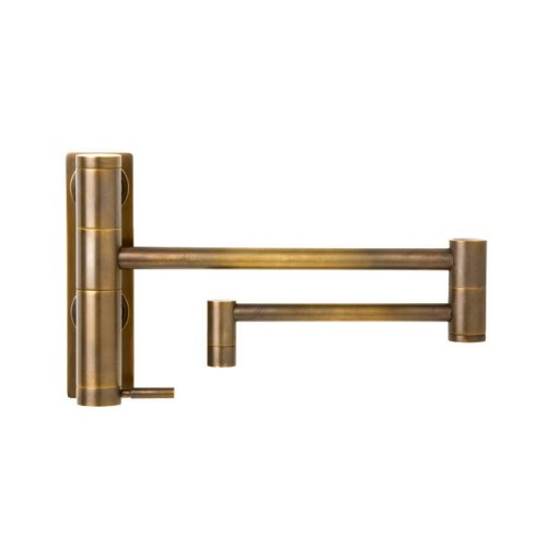 Waterstone 3200-TB Hunley Wall Mount Pot Filler Faucet, Tuscan Brass