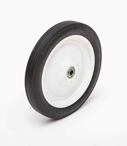 """12"""" Hard Rubber Wheel, Pressure Washer/Air Compressor/Hand Truck Replacement, Wheel/Hub Size Options"""