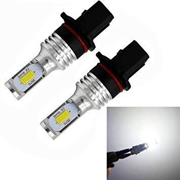 Uniqus 2 PCS P13w 72W 1000LM 6000-6500K Super Bright White Light Car Fog LED Bulbs, DC 12-24V