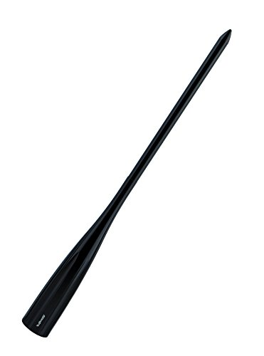 VMS Racing 9 inch SPIKE ANTENNA in BLACK Billet Aluminum Compatible with Ford F150 F250 F350 F450 F550 F650 1997-2019