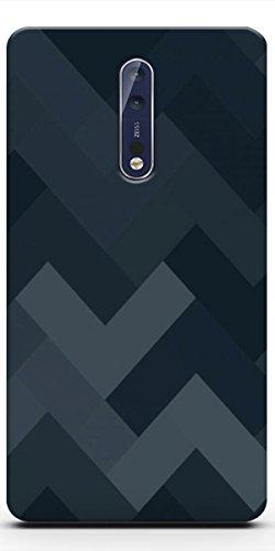 DRaX Printed Soft Back Cover for Nokia 8  Design 87