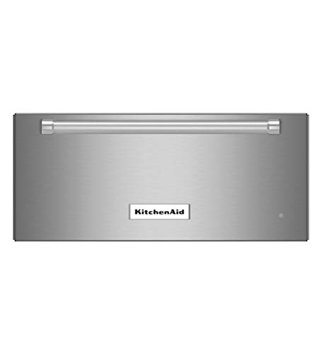 KITCHENAID KOWT104ESS 24 Warming Drawer with 1.1 cu. ft. Capacity, 600 Watts, Slow Cook Function, Humidity Slide Control, Bread Proofing and Sensor Temperature Control