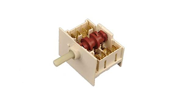 Conmutador Selector Interruptor para Cocina Vitrocerámica 5HE/074 PK11: Amazon.es: Hogar