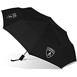 Automobili Lamborghini Accessories Compact Umbrella One Size Black