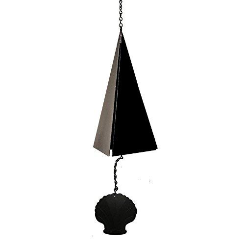 North Country Wind Bells Cape Cod BellTM with Scallop Shell - 3 Tones