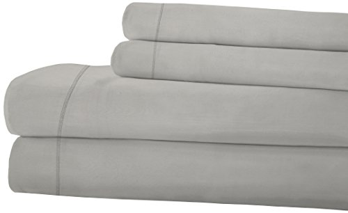 RDM Koncept Kentshire Collection T1500 Sheet Set Solid Combed Cotton Sateen, Queen, - Gla Collection