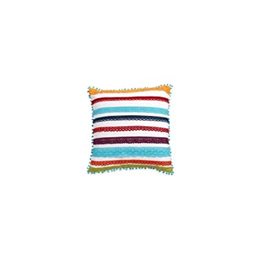 The Pioneer Woman Multi Color Lace 16x16 Decorative Pillow