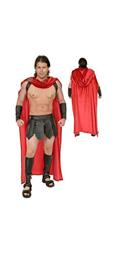 Charades Adult Spartan Warrior Costume -