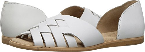 Seychelles Footwear Future Sandal - Women's White, 7.0 (Leather Woven Footwear)