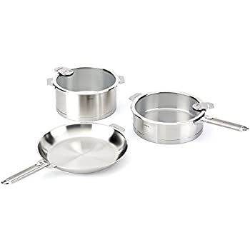 Amazon Com Cristel Strate 18 10 Stainless Steel 7 Piece