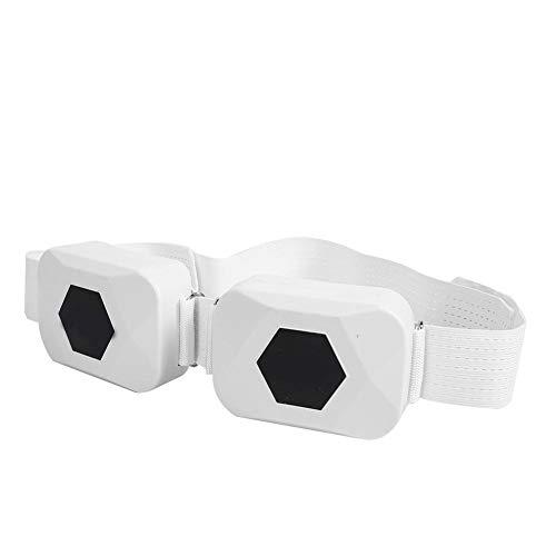 Elektrische afslankgordel, Wihte USB Portable Abdominal Muscle Toning Belt Spierstimulatie Tailleband voor mannen en…