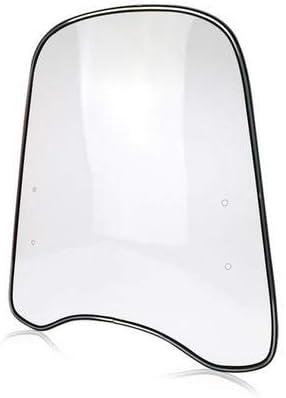 Circulor Universal Spoiler Motorrad Verstellbarer Clip Auf Windschutzscheibe Verlängerungsspoiler Seitenwindabweiser Für Motorrad Küche Haushalt