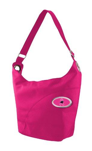 NFL Carolina Panthers Grommet Hobo Bag