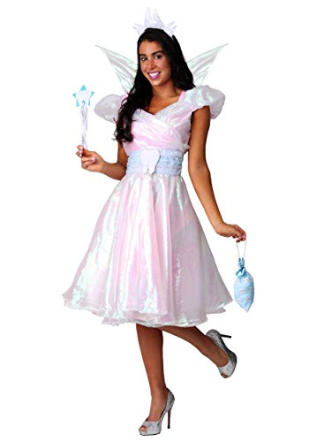 Women's Tooth Fairy Costume Small White -