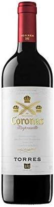 Coronas Crianza, Vino Tinto - 6 botellas de 750 ml, Total: 4500 ml